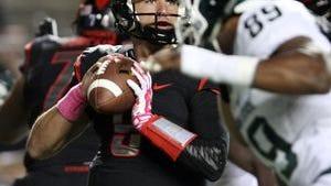 Rutgers quarterback Chris Laviano