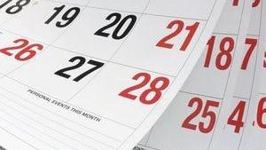 Community resource calendar week of Oct. 18