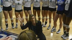 UWF volleyball coach Melissa Wolter will be part of a youth clinic as part of National Girls and Women in Sports Day on Feb. 8.