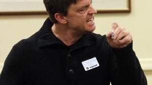 Comedian Jim Breuer in Superior Court, Morristown, on Dec. 11, 2015 for sentencing of a man who harassed him.