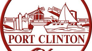 Seal of the city of Port Clinton