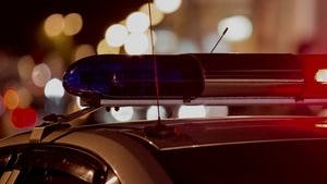 An 83-year-old woman was killed Friday morning when she fell in front of a turning vehicle in Loveland, police say.