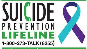 National Suicide Prevention Lifeline number