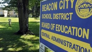 Beacon City School District sign
