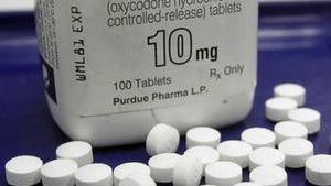 Stock photo. Opioids.