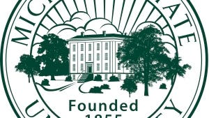 The seal of Michigan State University