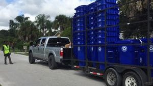 Recycling pickups for all county residents resume Monday as normally scheduled.