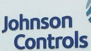 Johnson Controls sign