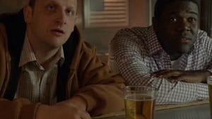 From left: Tim Robinson and Sam Richardson in a scene from 'Detroiters.'