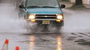 A flood watch is in effect from 8 a.m. Thursday through 2 p.m. Friday.