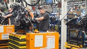 """While not the only Harley-Davidson plant, the factory in York County assembles """"the Touring, Softail®, CVO™ and Trike models,"""" according to Harley-Davidson's website."""