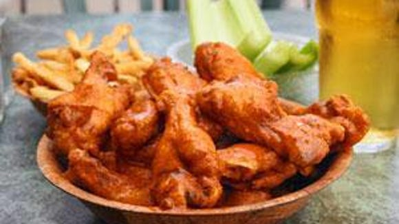 A bowl of traditional wings from Gateway Casino & Lounge.