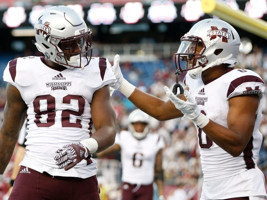 NCAA Football: Mississippi State at Massachusetts