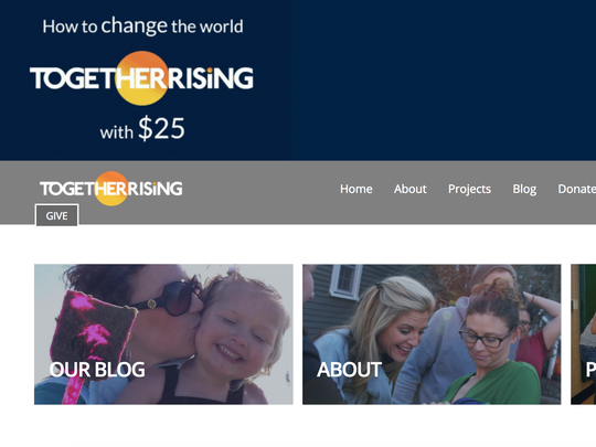 The website of Together Rising, a nonprofit organization , is raising money to hire two lawyers and two advocates to help 60 children ages 1 to 10 at an immigrant detention center in Arizona.