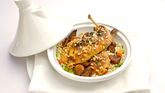 The rabbit tagine from Petite Maison.