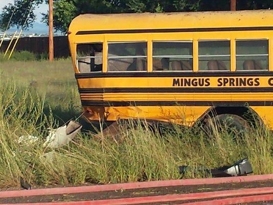 Yavapai school bus wreck
