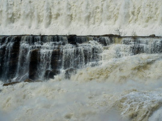 The Great Falls of the Missouri River is the site of
