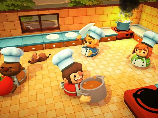 Overcooked Special Edition Nintendo Switch.