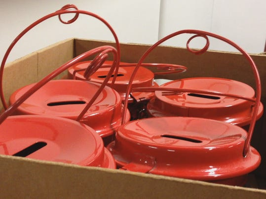 red kettles box