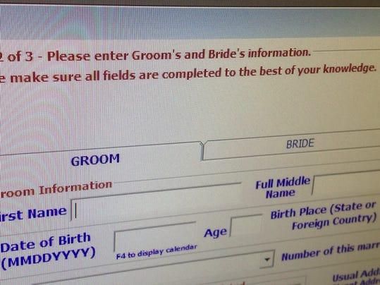 -wedding license application.jpg_20140815.jpg