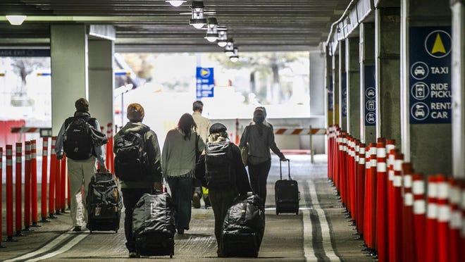 Austin-Bergstrom International Airport customers on Nov. 21.