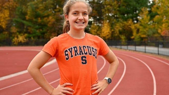 Millis High senior Bethany Steiner will run track at Division 1 Syracuse University next year.