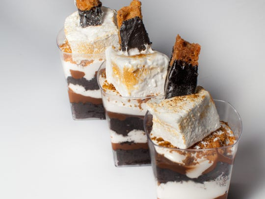 S'mores cakes and parfaits are among the most popular