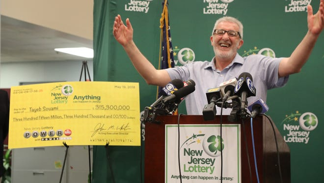 Tayeb Souami of Little Ferry was introduced as the $351.3 Million Powerball Winner. He purchased the winning ticket in Hackensack.