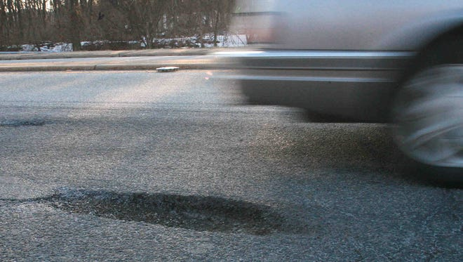 Hitting a pothole can lead to costly repairs to a vehicle.