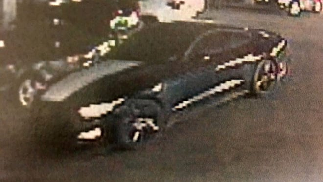 Stolen 2015 Ford Mustang