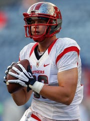 Rutgers tight end Tyler Kroft's stock is rising on NFL draft boards.