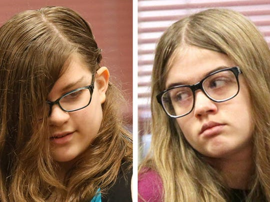 Anissa Weier (left) and Morgan Geyser (right) were charged in the case.