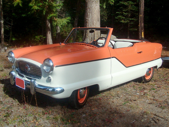 This 1956 Hudson Metropolitan convertible is among