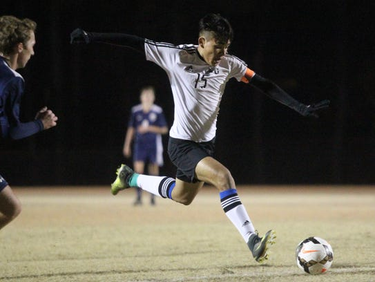 Godby junior Jose Rodriguez scored his 34th goal during