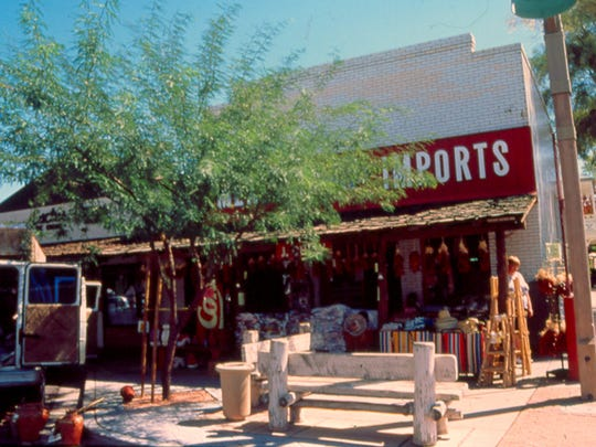 Johnny Rose's Pool Hall, now Mexican Imports, was built in 1923. It is now on the National Register of Historic Places.