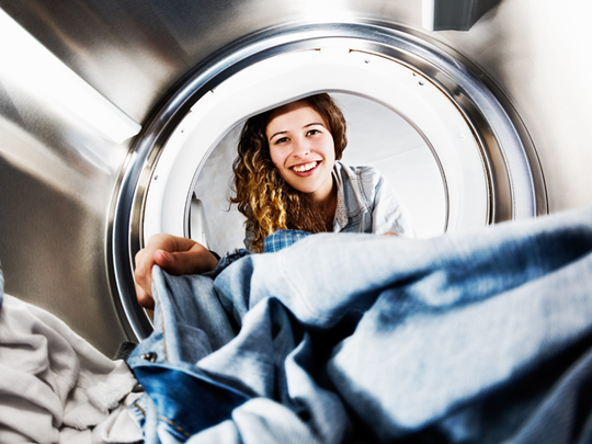 Giving your recent grad or new homeowner a washer and dryer might be one of the best they'll receive.