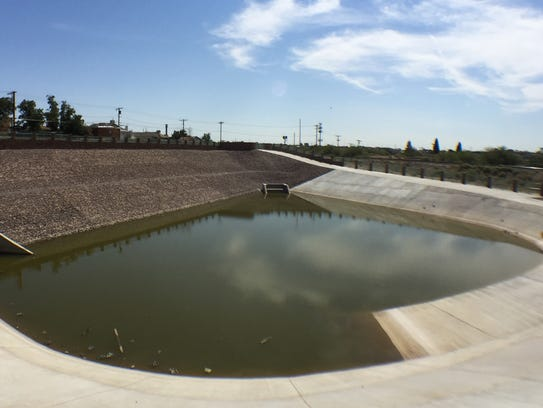 Whenever possible, El Paso Water's stormwater reservoirs