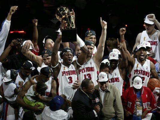 2004 NBA finals, Pistons, Lakers