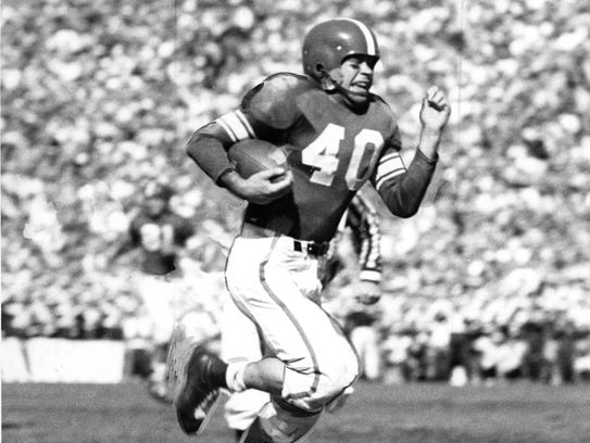 Michigan State halfback Don McAuliffe was an All-American