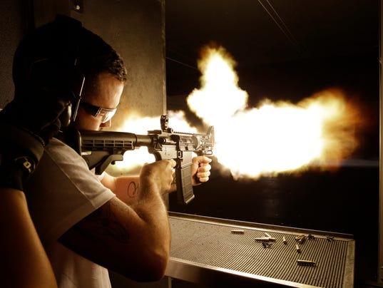 AP MACHINE GUN TOURISM A USA NV