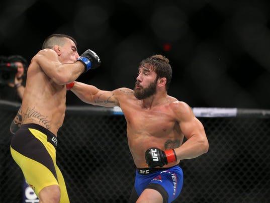 MMA: UFC Fight Night-Rivera vs Almeida