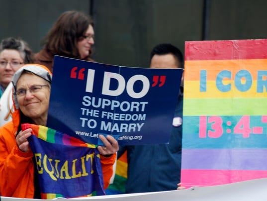 Gay marriage Alaska Arizona
