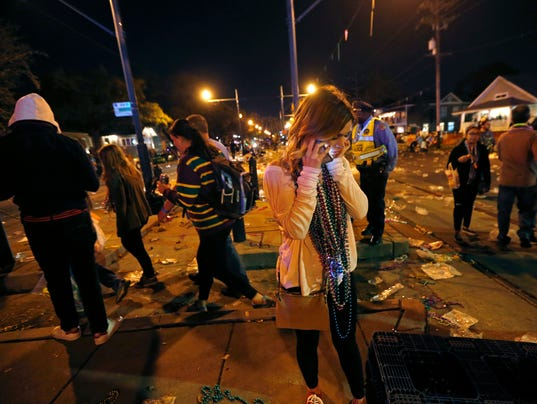 Car Plows Into Crowd In New Orleans
