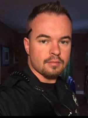 Corinth police officer Kevin Parker Jr.