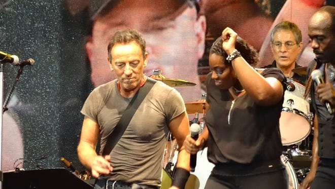 Bruce Springsteen and Michelle Moore.