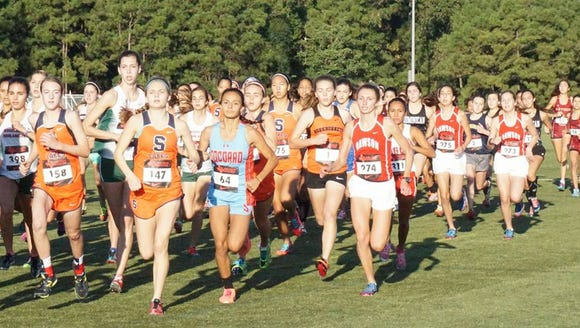 The Socorro girls placed 6th at last week's Nike South