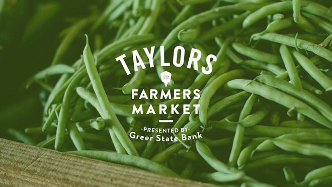 The Taylors Farmers Market presented by Greer State Bank will be held on Thursday evenings at Taylors Mill next year.