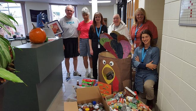 Y Staff and members held a food drive during November for local pantries, working together to help those in need in the Manitowoc and Two Rivers communities.