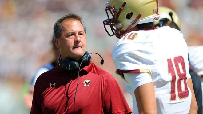 Boston College wide receivers coach Todd Fitch is headed to Louisiana Tech to become the new OC/WRs coach.