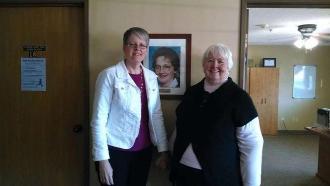 Julie Cravillion, left, and Sue Poole are the co-founders of Shirley's House of Hope.